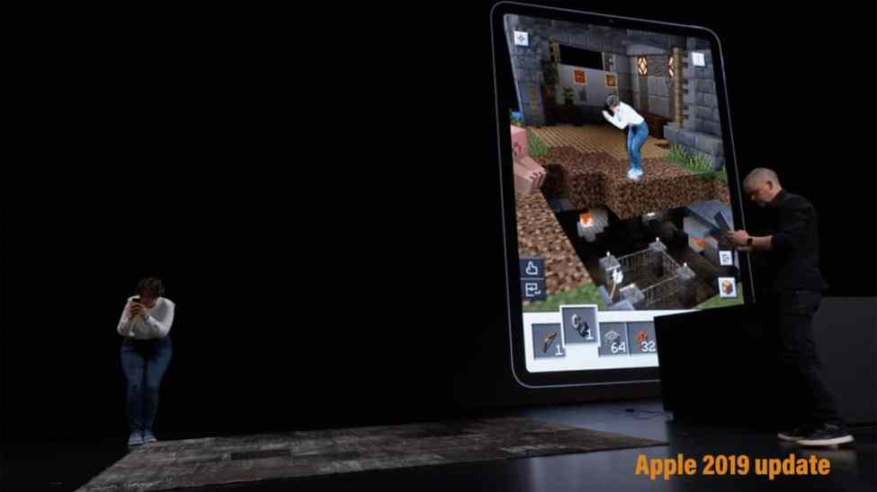 Apple brings some new features for the developers ARKit 3, SwiftUI. Minecraft Earth showed for ARKit 3 demo