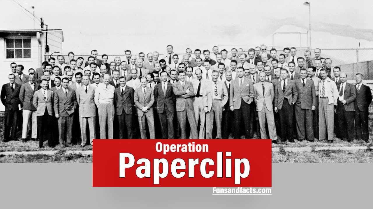 Operation Paperclip : US Secret mission in world war II