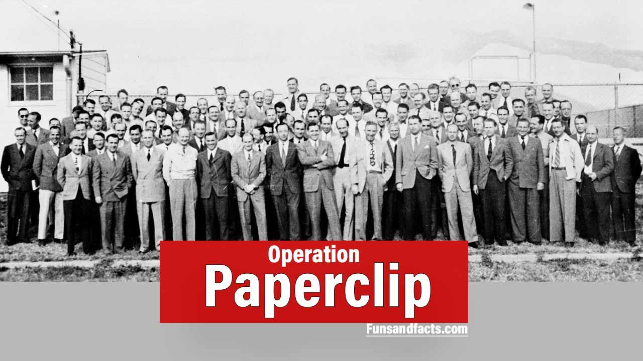 Operation Paperclip : US Secret mission in world war II
