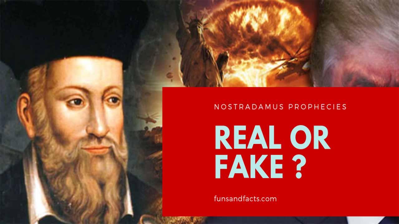 Nostradamus prediction list and Les Prophéties