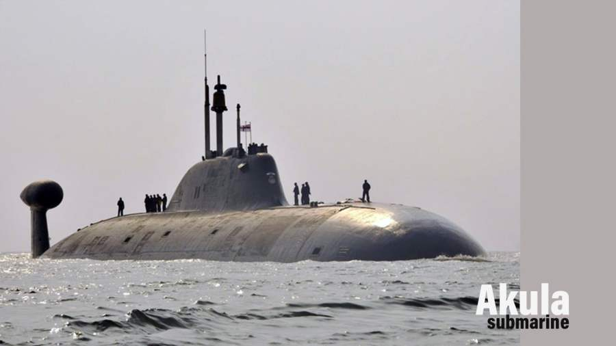 Akula : The world's largest submarine ever built
