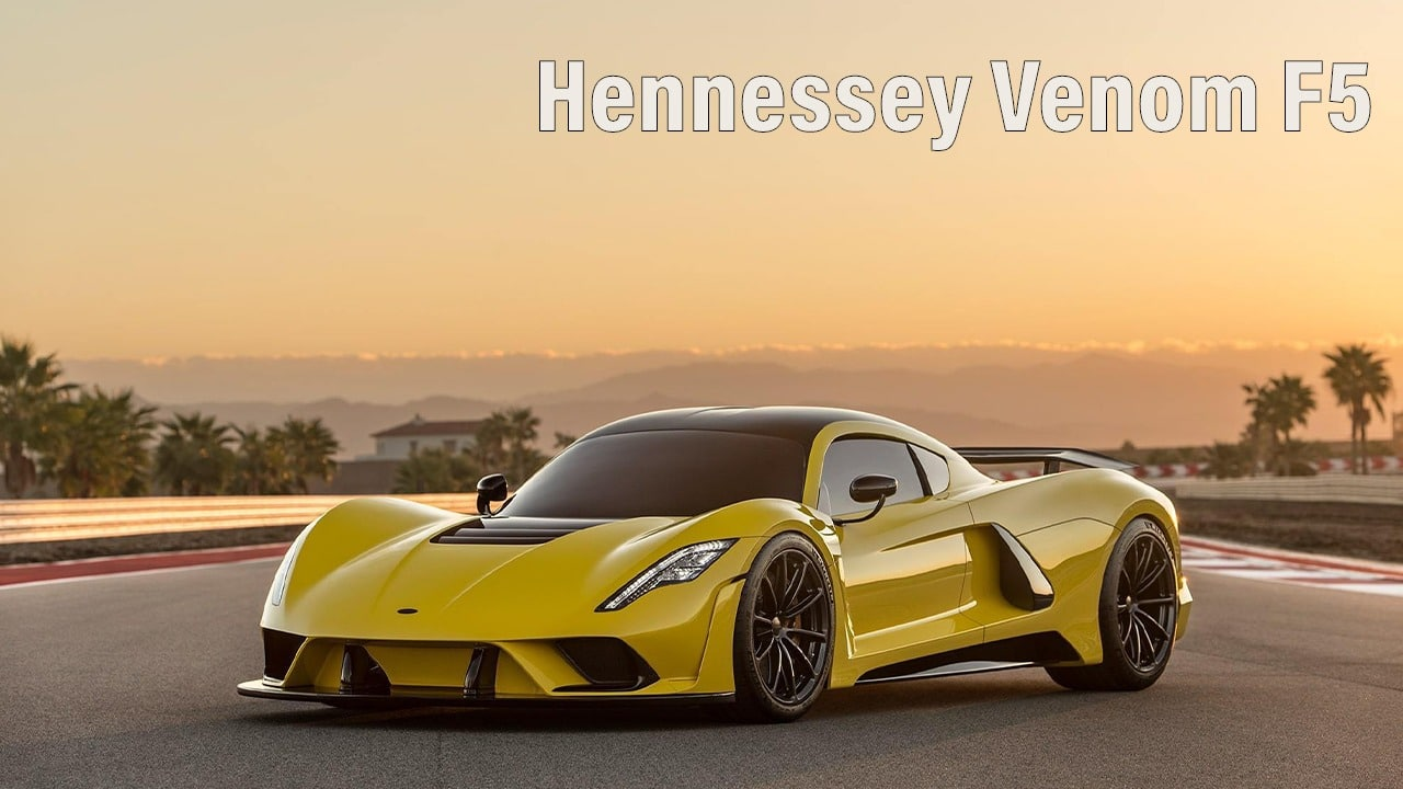 Hennessey Venom F5 - fastest car in the world