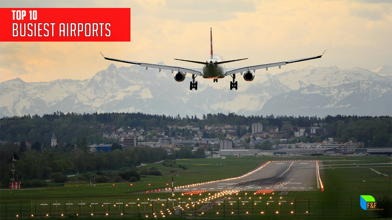 Busiest airports in the world
