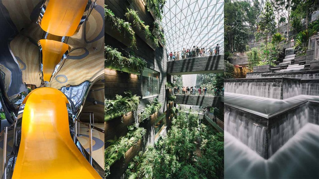 Singapore Jewel Changi Airport tourist attractions