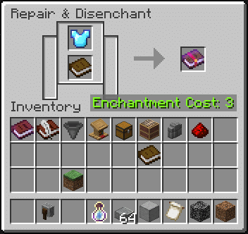 How to Remove Enchantments in Minecraft? Disenchant Items