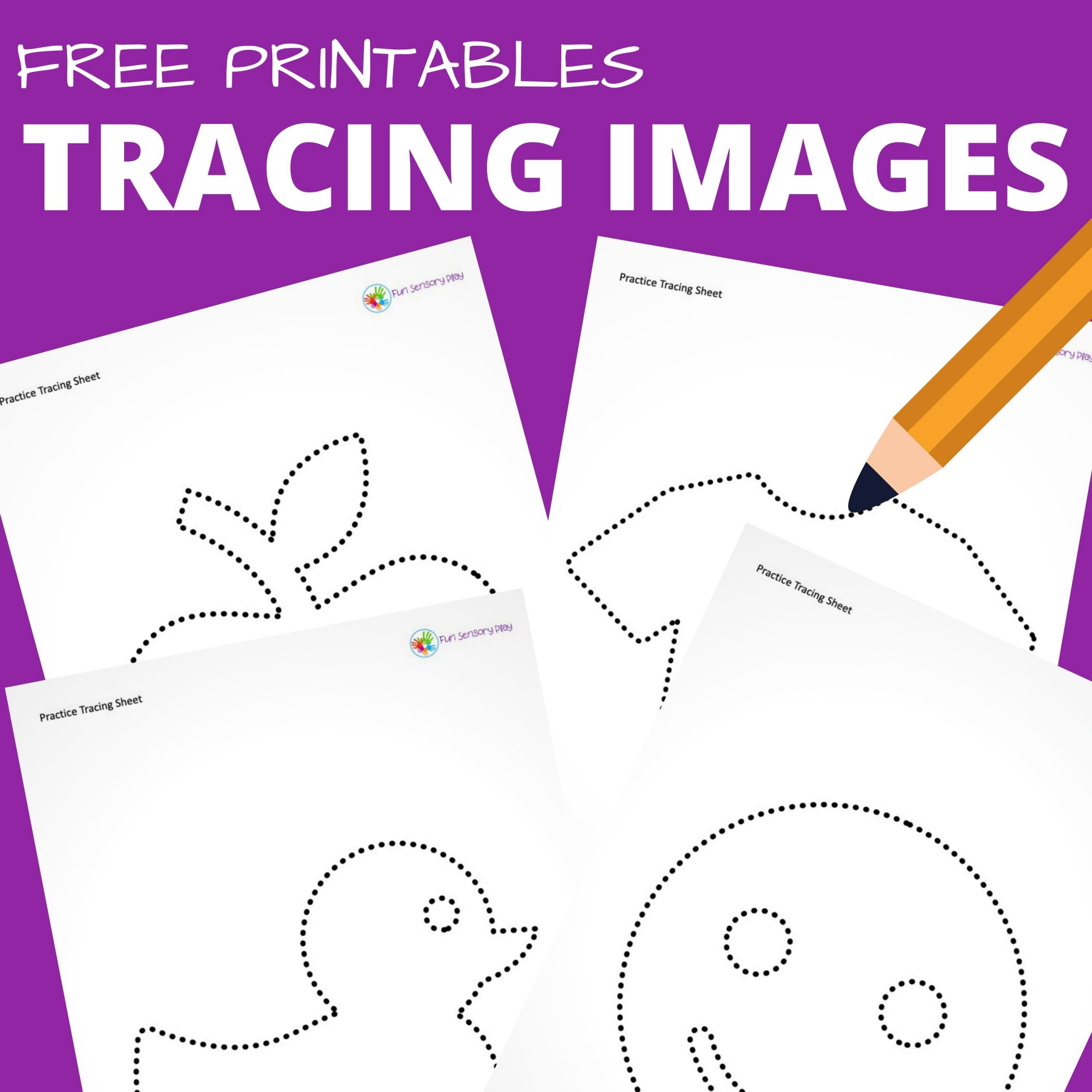 Printable Tracing Images Amp Shapes For Toddlers And