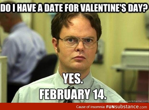 Forever Alone on valentines day