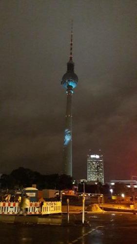 k-Fernsehturm Berlin Festival Of Lights (2)