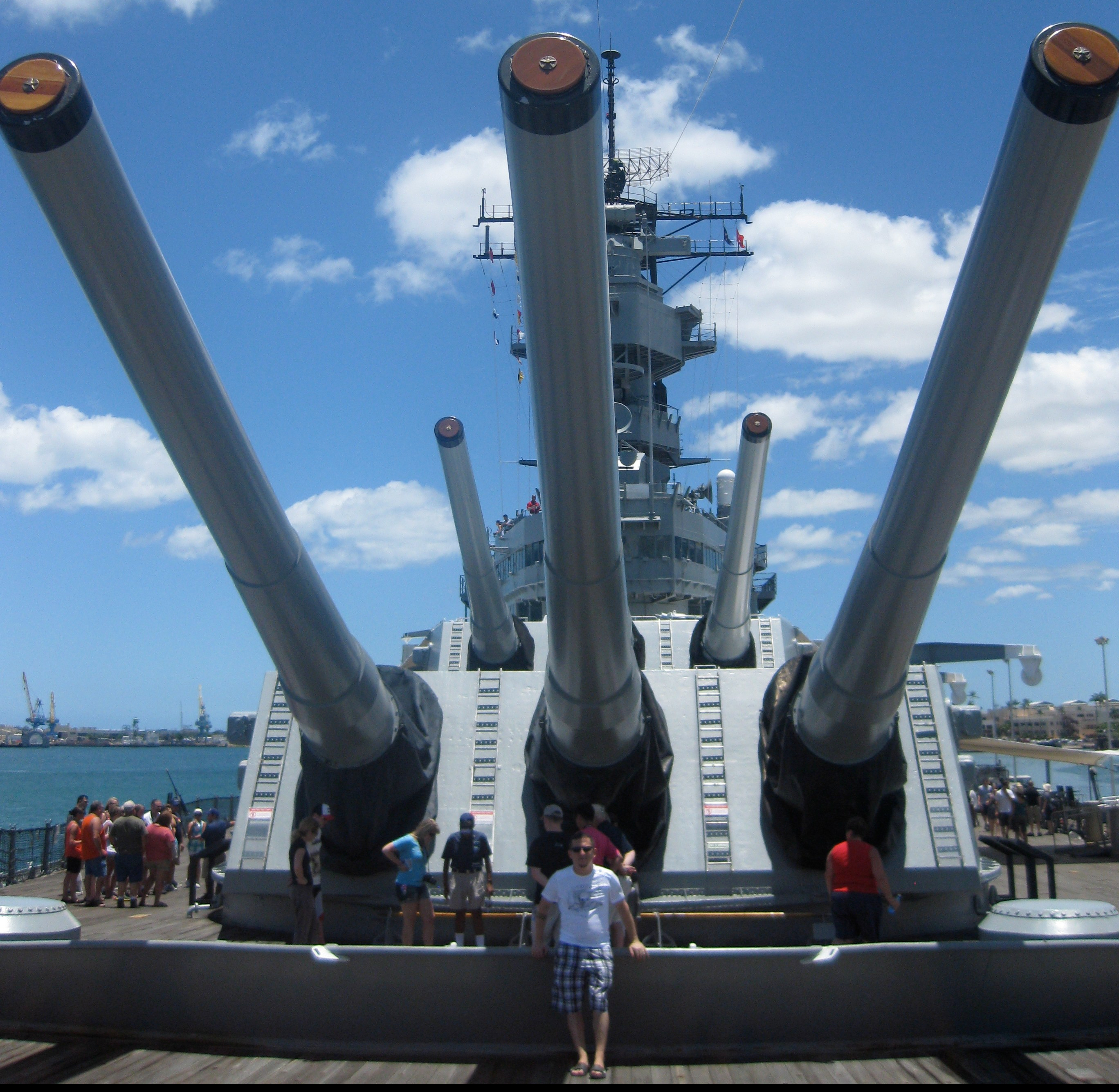Battleship Missouri Memorial – Experience the location of the ending of WWII.