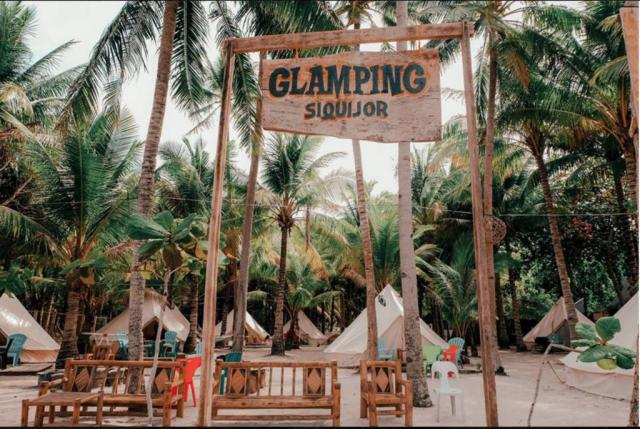 GLAMPING SIQUIJOR BY THE BEACH