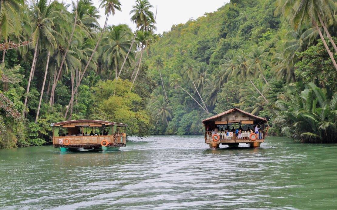 The Loboc River, Bohol, Philippines