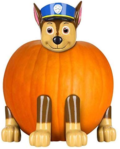 Paw Patrol Chase the Police Pup Pumpkin Push-In Kit