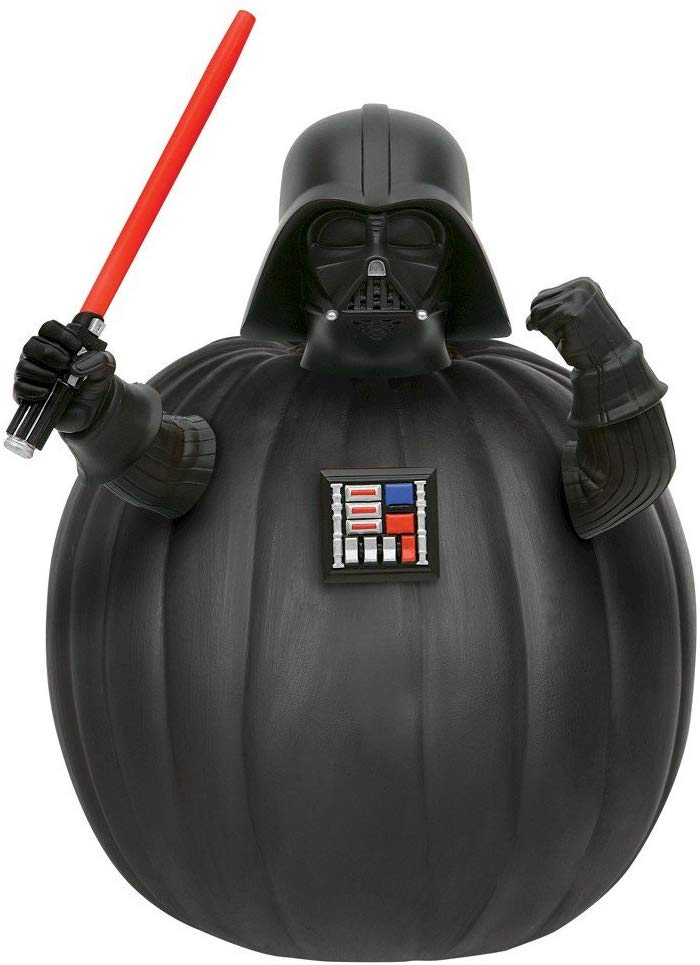 Star Wars Darth Vader Push-In Pumpkin Decorating Kit hallowen decor