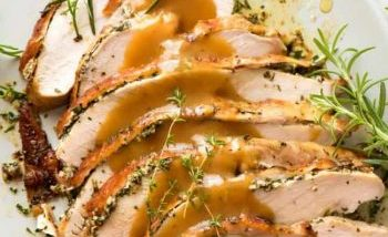 Garlic Herb Butter SLOW COOKER Turkey Breast