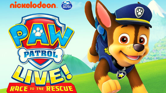Paw Patrol Live! Race to the Rescue|Mar 31 – Apr 1, 2020