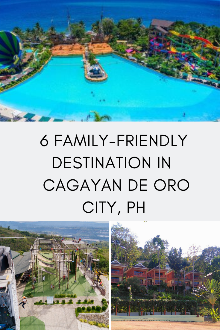 FAMILY-FRIENDLY DESTINATION IN AND AROUND CAGAYAN DE ORO CITY