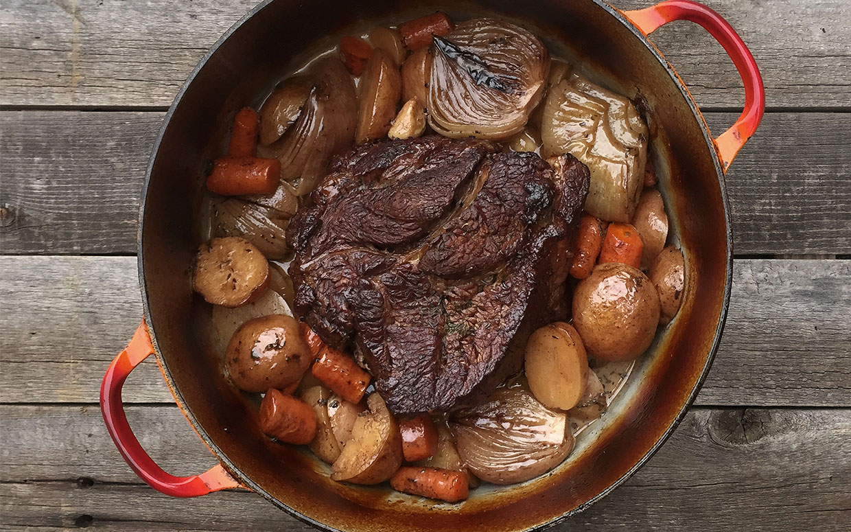 Comforting Beef Pot Roast with Vegetables