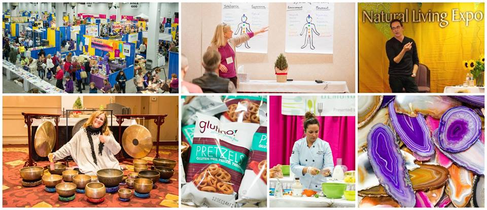 Natural Living Expo collage