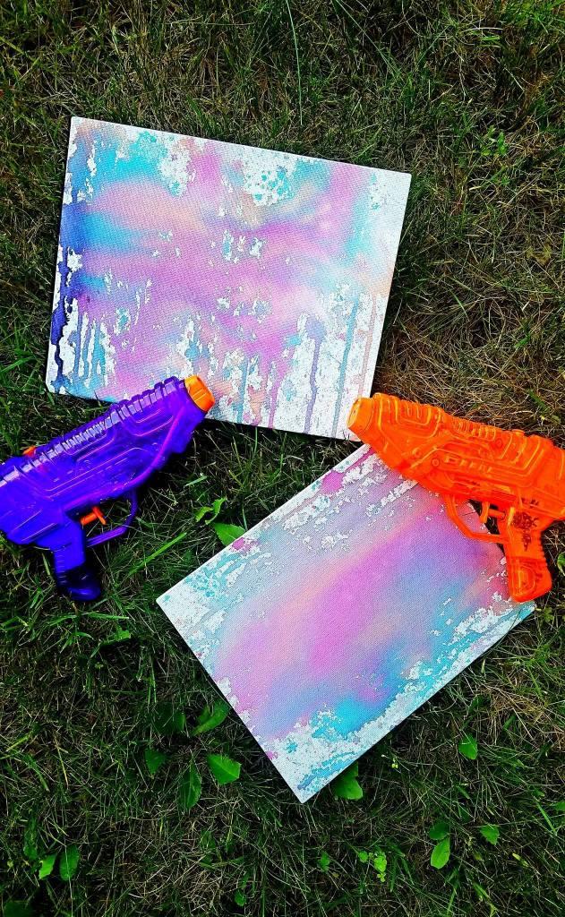 squirt gun art