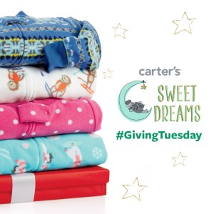 Sweet Dreams with Carter's – #GivingTuesday
