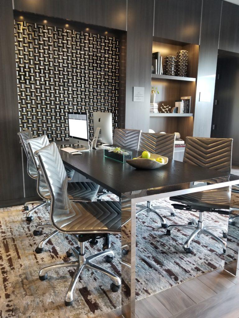 Work Area AC Hotel Cambridge