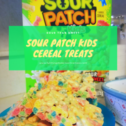Sour Patch Kids Cereal Treats