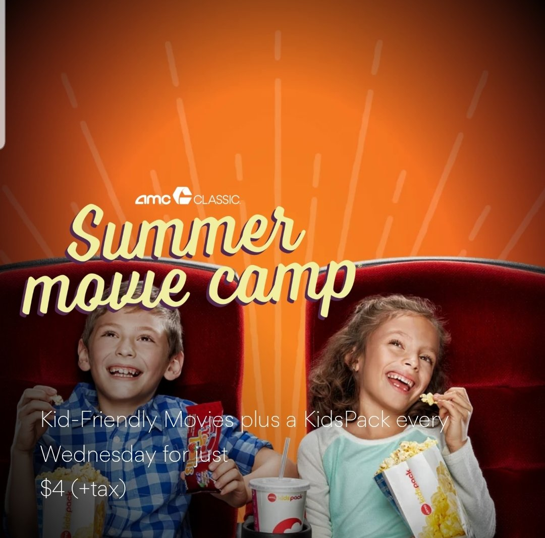 AMC summer movie camp