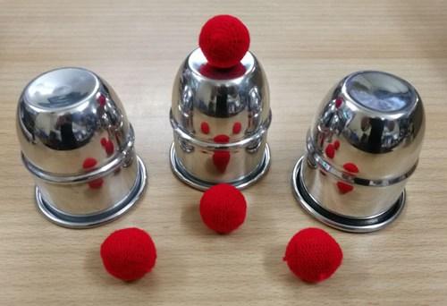 Cups and Balls Aluminum