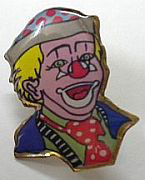 Clown-Lapel-Pin