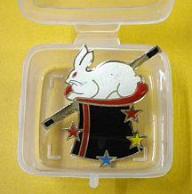 Lapel Pin - Rabbit Hat