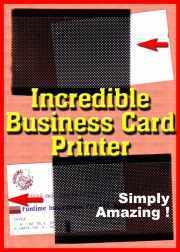 Incr Business Card Printer