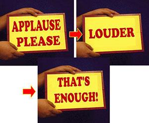 applause card