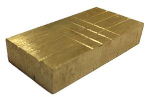 Pin Through Brass Block