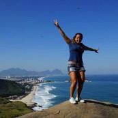 Pico do Caeté conquer´s felling.