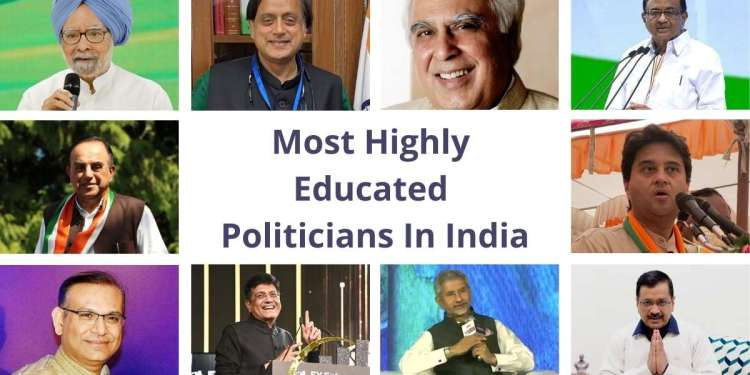 Most Highly Educated Politicians In India