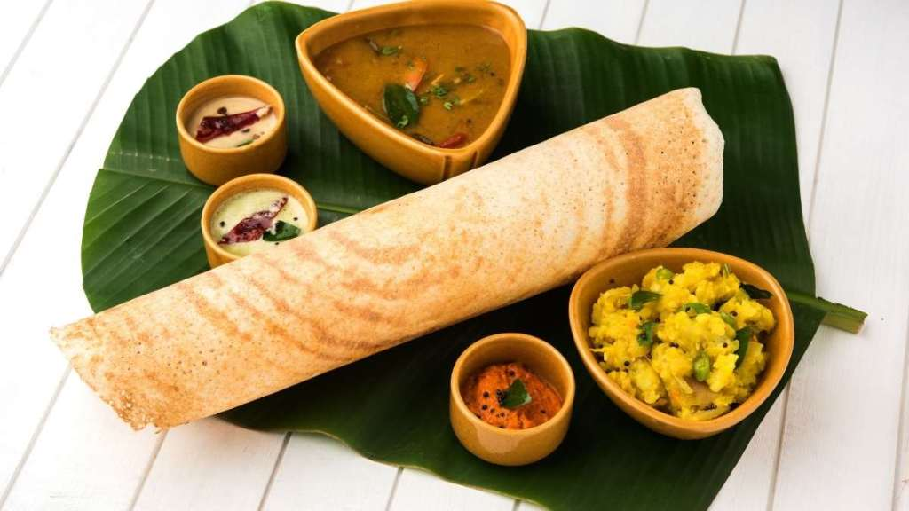 Masala Dosa - Indian dishes