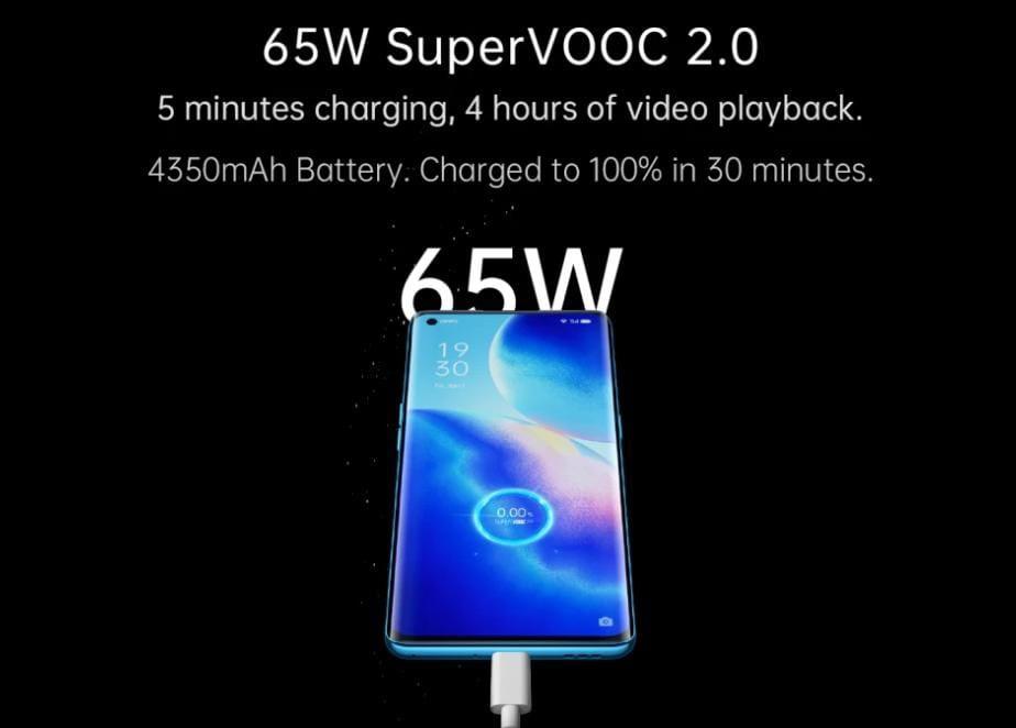Oppo Reno 5 Pro 5G battery performance