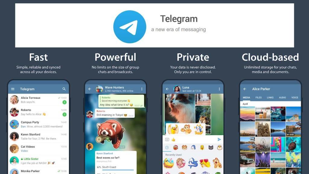 WhatsApp, Signal App or Telegram App