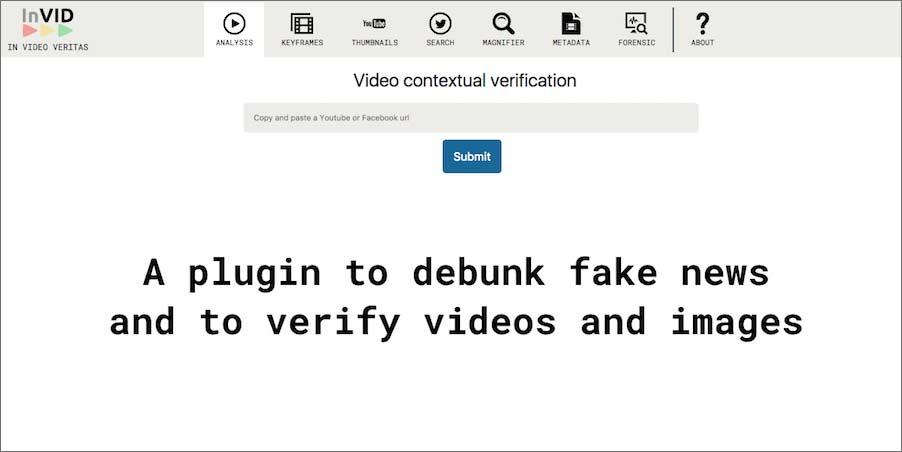 Fact Check Videos using Invid Tool