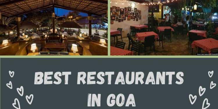 Best Restaurants In Goa For Couples On Valentine's Day