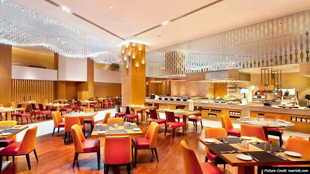 Top 6 Restaurant In Bhopal : Bay Leaf - Courtyard Marriott, Maharana Pratap Nagar, Bhopal