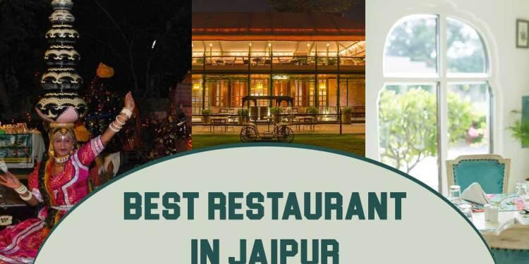 Best Restaurant In Jaipur