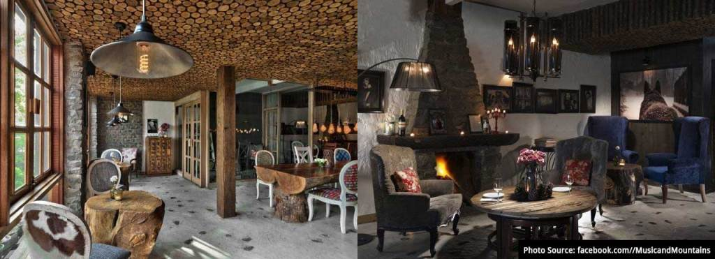 Music & Mountains - Hillside cafe