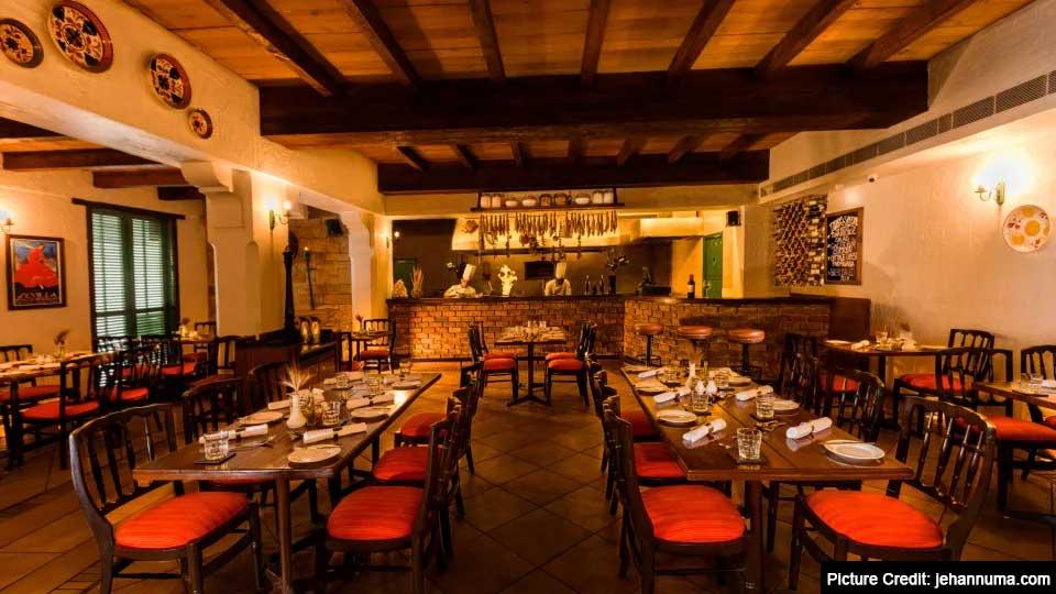 Top 6 Restaurant In Bhopal : Tattenham Across the Orient