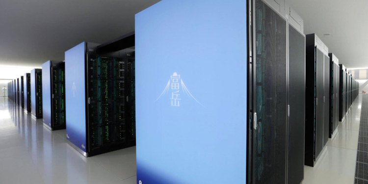 Japan Built The World's Fastest Super Computer FUGAKU