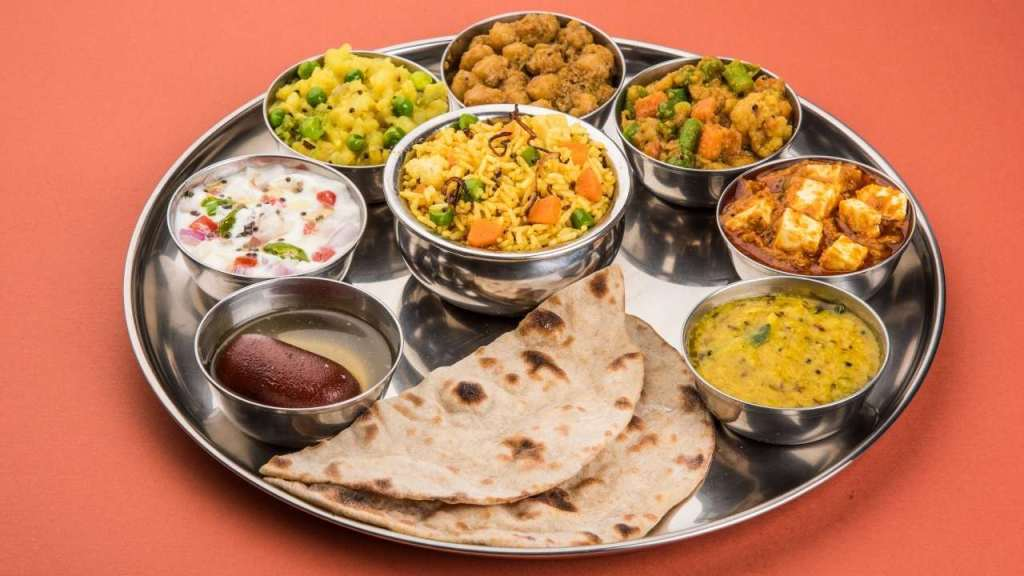 Indian Dining etiquettes- Food Plate