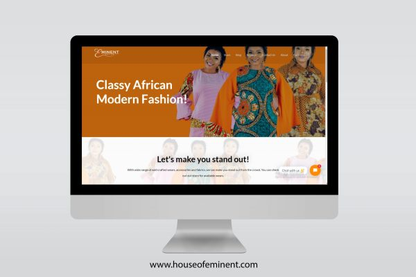 House of Eminent Website Design