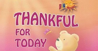 THANKFUL FOR TODAY