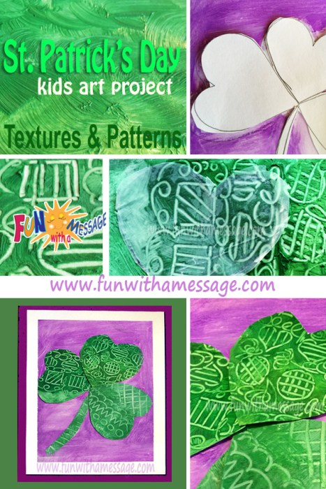 Art Project Shamrock patterns