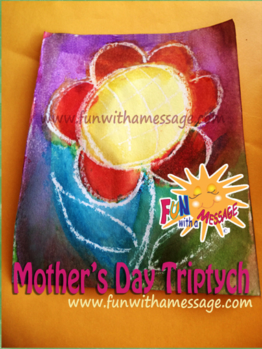 Mothers Day Kids Art Project